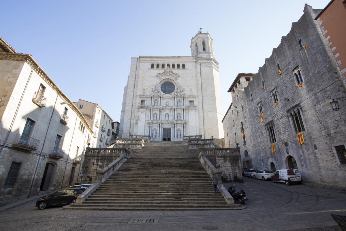 Plaça de la Catedral de Girona