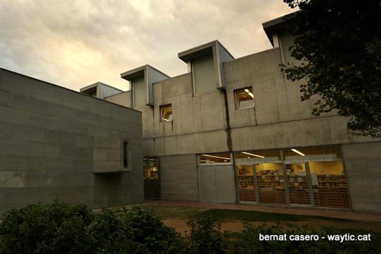 Biblioteca Just Manuel Casero