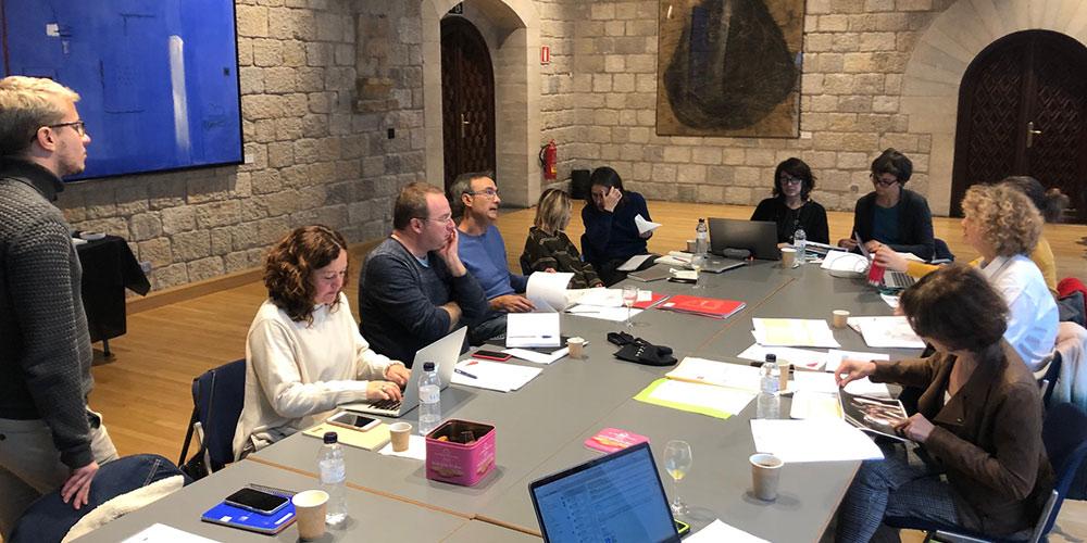 Reunió del projecte Pyrenart